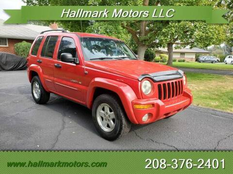 2002 Jeep Liberty for sale at HALLMARK MOTORS LLC in Boise ID