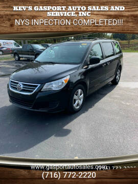 2009 Volkswagen Routan for sale at KEV'S GASPORT AUTO SALES AND SERVICE, INC in Gasport NY