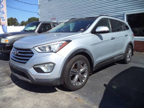 2015 Hyundai Santa Fe for sale at H and H Truck Center in Newport News VA