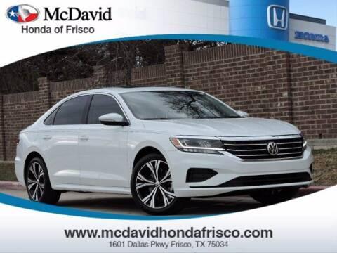 2020 Volkswagen Passat for sale at DAVID McDAVID HONDA OF IRVING in Irving TX