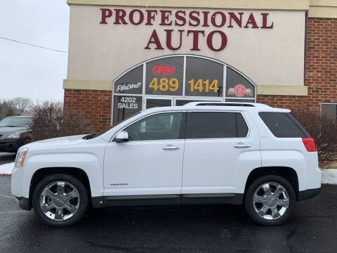 2011 GMC Terrain for sale at Professional Auto Sales & Service in Fort Wayne IN