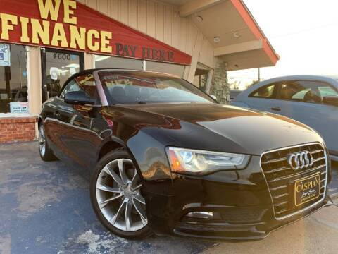 2014 Audi A5 for sale at Caspian Auto Sales in Oklahoma City OK