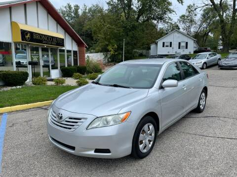 2008 Toyota Camry for sale at Bronco Auto in Kalamazoo MI