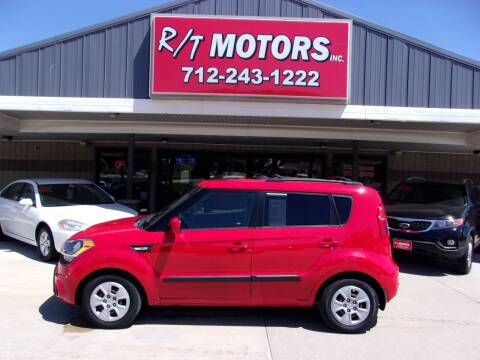 2013 Kia Soul for sale at RT Motors Inc in Atlantic IA