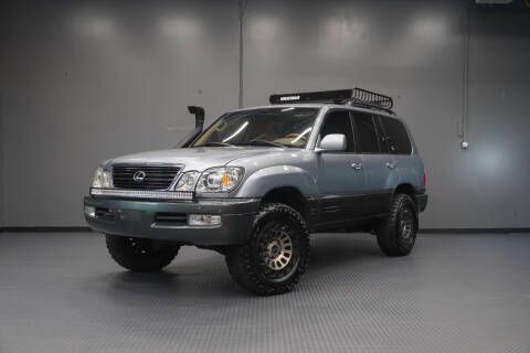 2002 Lexus LX 470 for sale at TOPLINE AUTO GROUP in Kent WA