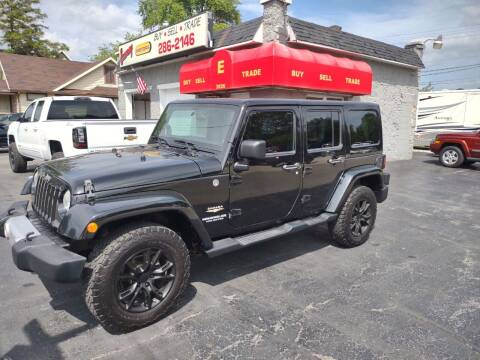 2012 Jeep Wrangler Unlimited for sale at Economy Motors in Muncie IN