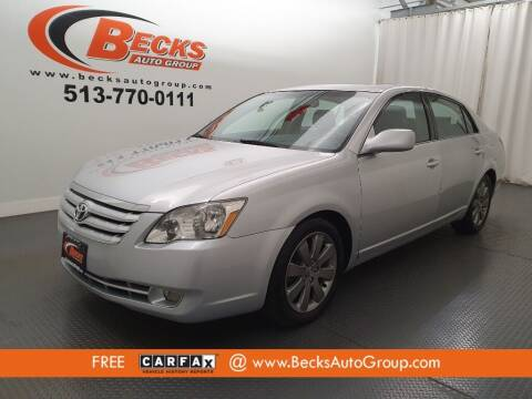 2006 Toyota Avalon for sale at Becks Auto Group in Mason OH