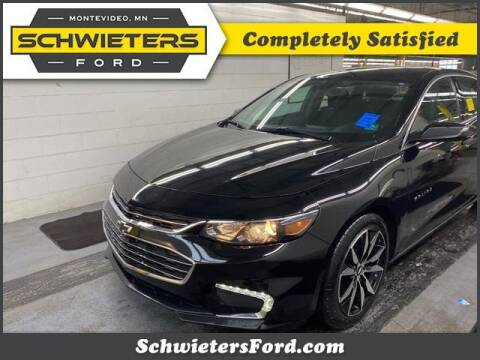 2018 Chevrolet Malibu for sale at Schwieters Ford of Montevideo in Montevideo MN