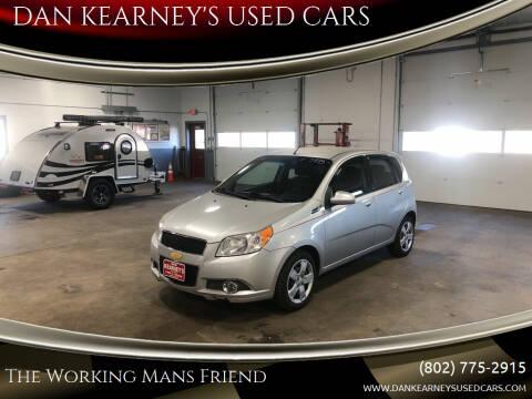 2011 Chevrolet Aveo for sale at DAN KEARNEY'S USED CARS in Center Rutland VT