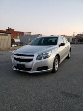 2013 Chevrolet Malibu for sale at iDrive in New Bedford MA