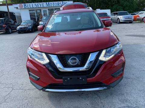 2017 Nissan Rogue for sale at BULLSEYE MOTORS INC in New Braunfels TX