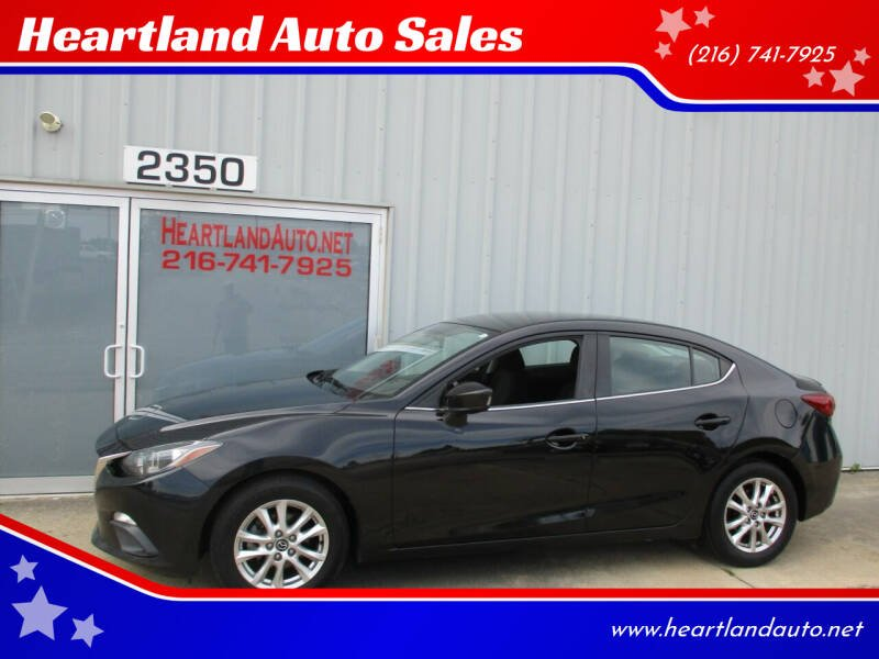 2014 Mazda MAZDA3 for sale at Heartland Auto Sales in Medina OH