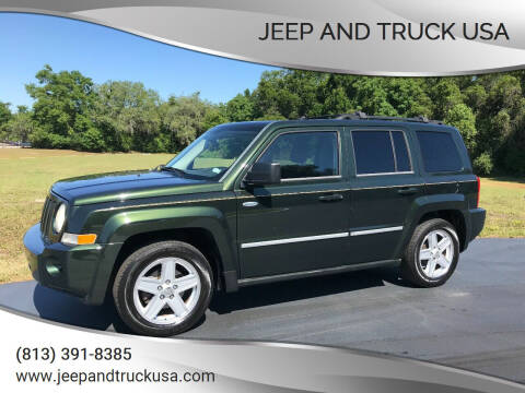 2010 Jeep Patriot for sale at Jeep and Truck USA in Tampa FL