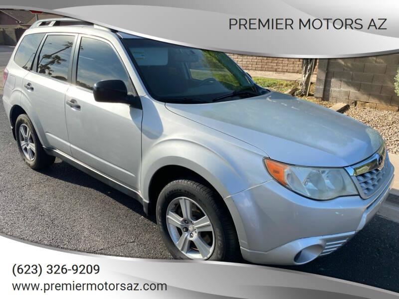 2011 Subaru Forester for sale at Premier Motors AZ in Phoenix AZ
