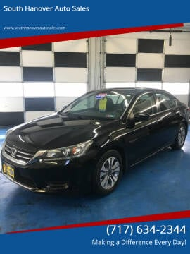 2014 Honda Accord for sale at South Hanover Auto Sales in Hanover PA