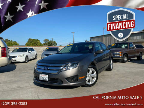 2012 Ford Fusion for sale at CALIFORNIA AUTO SALE 2 in Livingston CA