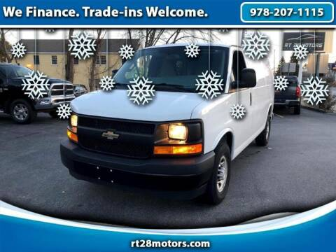 2017 Chevrolet Express Cargo for sale at RT28 Motors in North Reading MA