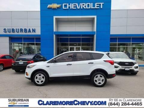 2019 Ford Escape for sale at Suburban Chevrolet in Claremore OK