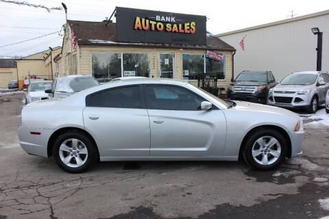 2012 Dodge Charger for sale at BANK AUTO SALES in Wayne MI