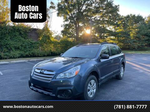 2013 Subaru Outback for sale at Boston Auto Cars in Dedham MA