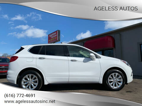 2018 Buick Envision for sale at Ageless Autos in Zeeland MI