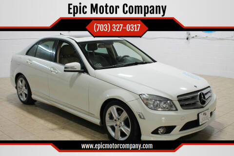 2010 Mercedes-Benz C-Class for sale at Epic Motor Company in Chantilly VA