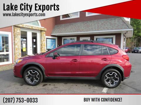 2015 Subaru XV Crosstrek for sale at Lake City Exports in Auburn ME