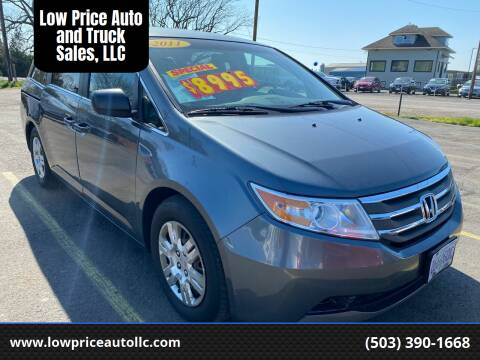 2011 Honda Odyssey for sale at Low Price Auto and Truck Sales, LLC in Salem OR