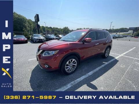 2015 Nissan Rogue for sale at Impex Auto Sales in Greensboro NC