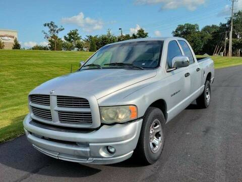 2003 Dodge Ram Pickup 1500 for sale at Happy Days Auto Sales in Piedmont SC