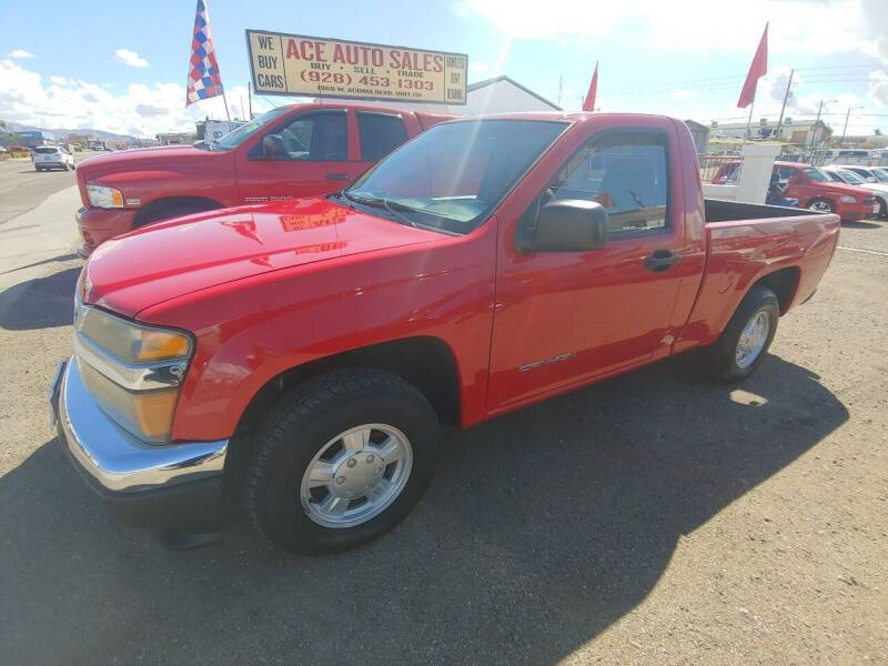2004 GMC Canyon for sale at ACE AUTO SALES in Lake Havasu City AZ