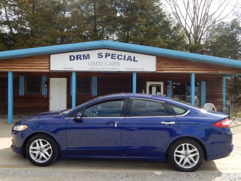 2016 Ford Fusion for sale at DRM Special Used Cars in Starkville MS