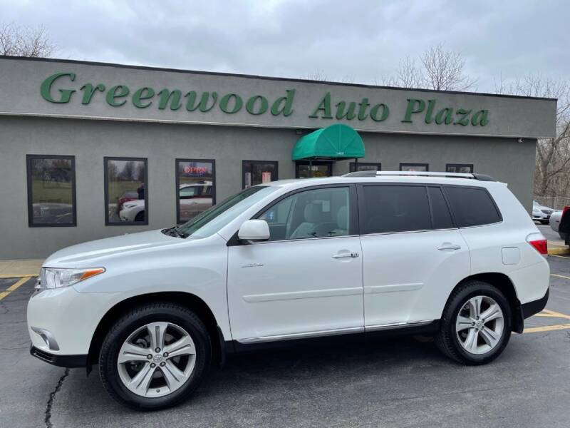2012 Toyota Highlander for sale at Greenwood Auto Plaza in Greenwood MO