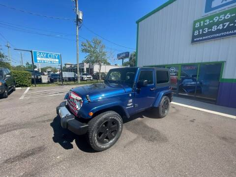2009 Jeep Wrangler for sale at Bay City Autosales in Tampa FL