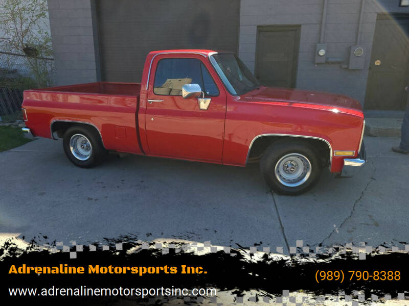 1986 Chevrolet C/K 10 Series for sale at Adrenaline Motorsports Inc. in Saginaw MI