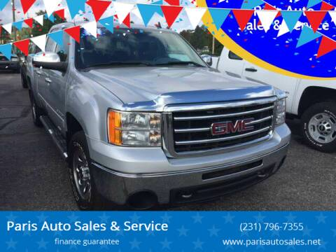 2013 GMC Sierra 1500 for sale at Paris Auto Sales & Service in Big Rapids MI