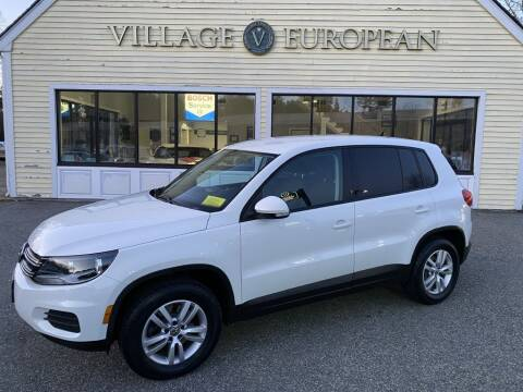 2013 Volkswagen Tiguan for sale at Village European in Concord MA