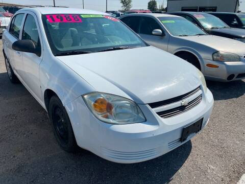 2007 Chevrolet Cobalt for sale at BELOW BOOK AUTO SALES in Idaho Falls ID
