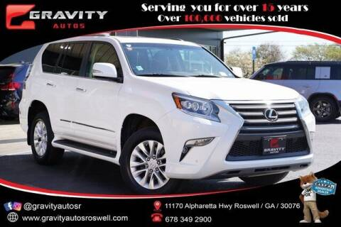 2017 Lexus GX 460 for sale at Gravity Autos Roswell in Roswell GA
