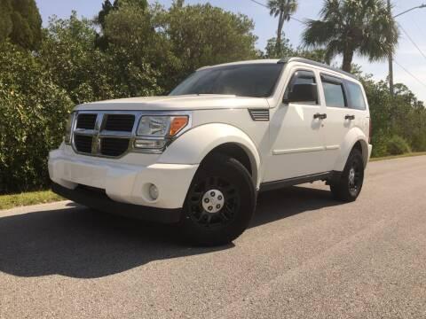 2010 Dodge Nitro for sale at VICTORY LANE AUTO SALES in Port Richey FL
