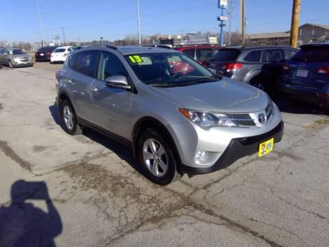 2013 Toyota RAV4 for sale at Regency Motors Inc in Davenport IA