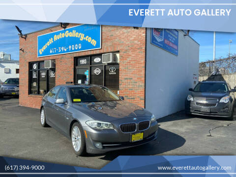 2013 BMW 5 Series for sale at Everett Auto Gallery in Everett MA