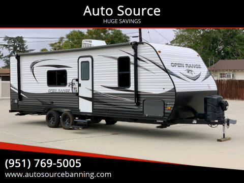2021 Highland Ridge Open Range for sale at Auto Source II in Banning CA