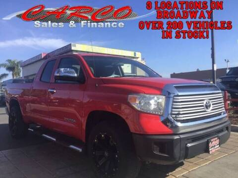 2014 Toyota Tundra for sale at CARCO SALES & FINANCE in Chula Vista CA