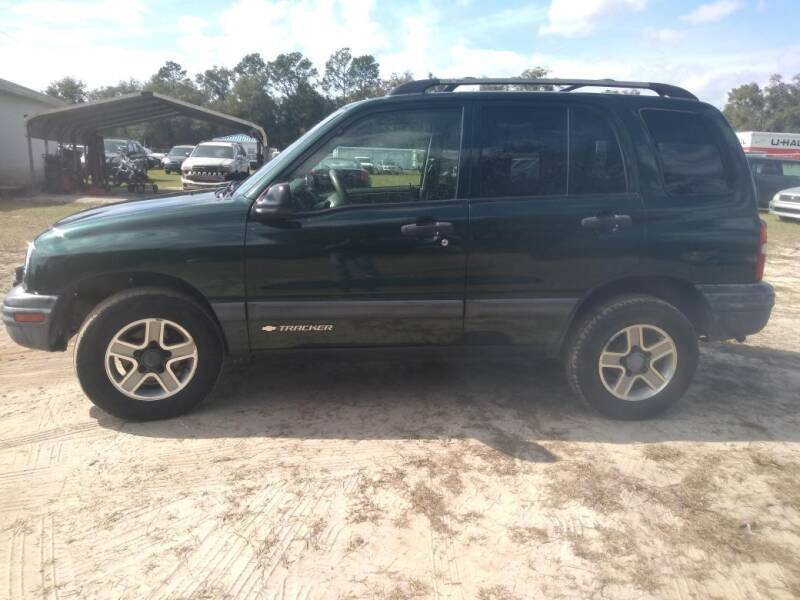 2003 Chevrolet Tracker for sale at Popular Imports Auto Sales in Gainesville FL