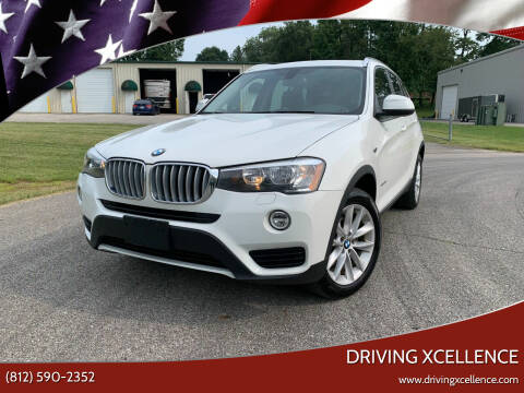 2017 BMW X3 for sale at Driving Xcellence in Jeffersonville IN