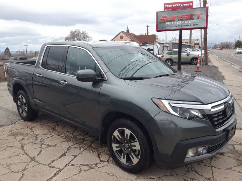 2019 Honda Ridgeline for sale at Sunset Auto Body in Sunset UT