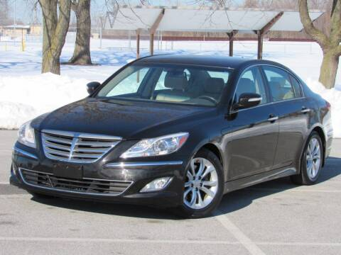 2013 Hyundai Genesis for sale at Highland Luxury in Highland IN