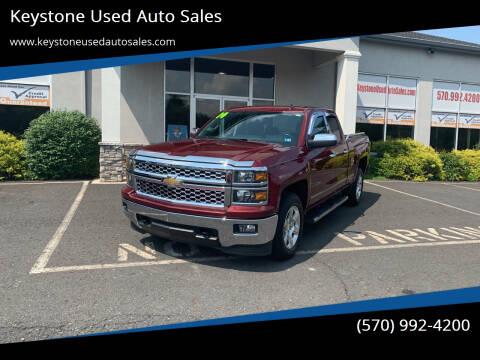 2014 Chevrolet Silverado 1500 for sale at Keystone Used Auto Sales in Brodheadsville PA
