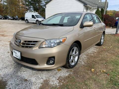 2013 Toyota Corolla for sale at Williston Economy Motors in Williston VT